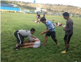 Coaching with the National Rugby Team of Afghanistan