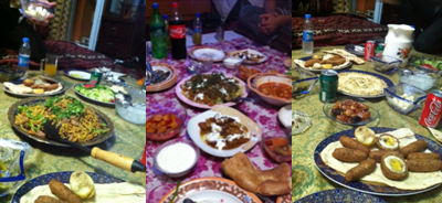 Glorious Afghan Feast!