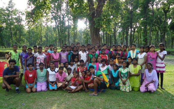 With the Saraswatipur Khelo Rugby Girls