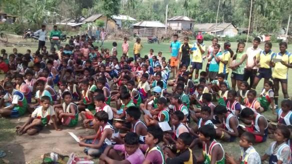 Winter Camp Saraswatipur