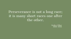 Perseverance blog